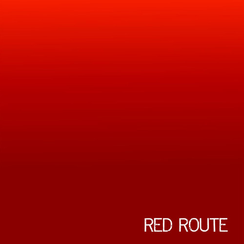 red route - red